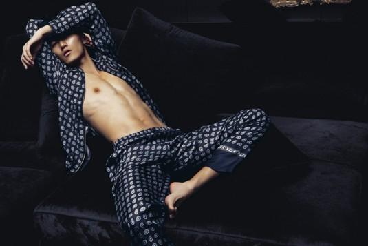 Silken Reverie- Dolce & Gabbana Fall 2012 Loungewear,.jpg