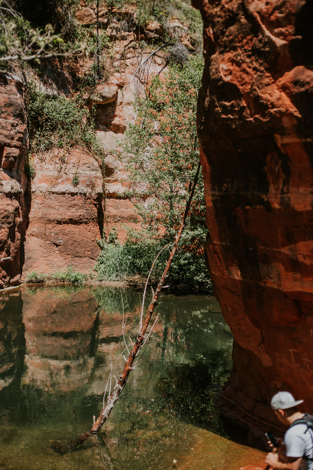 Sedona - AZ - Arizona - Hiking - Slide Rock - Adventure - Las Vegas Photographer - Photographer - Photography - Kamra Fuller Photography - Arizona Photography - Sedona Photography - Travel Photography - Travel Photographer - Travel - River - National Park