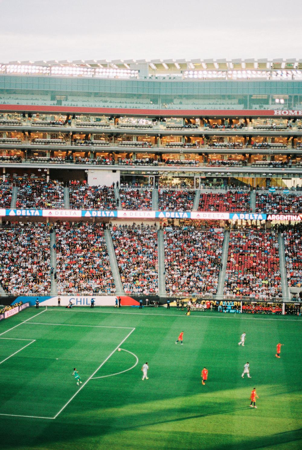 San Francisco - Alcatraz - Film - Portra - Fuji - Copa America - San Jose - Canon AE-1 - USA - Colombia - Chile - Argentina - Copa America Centenario