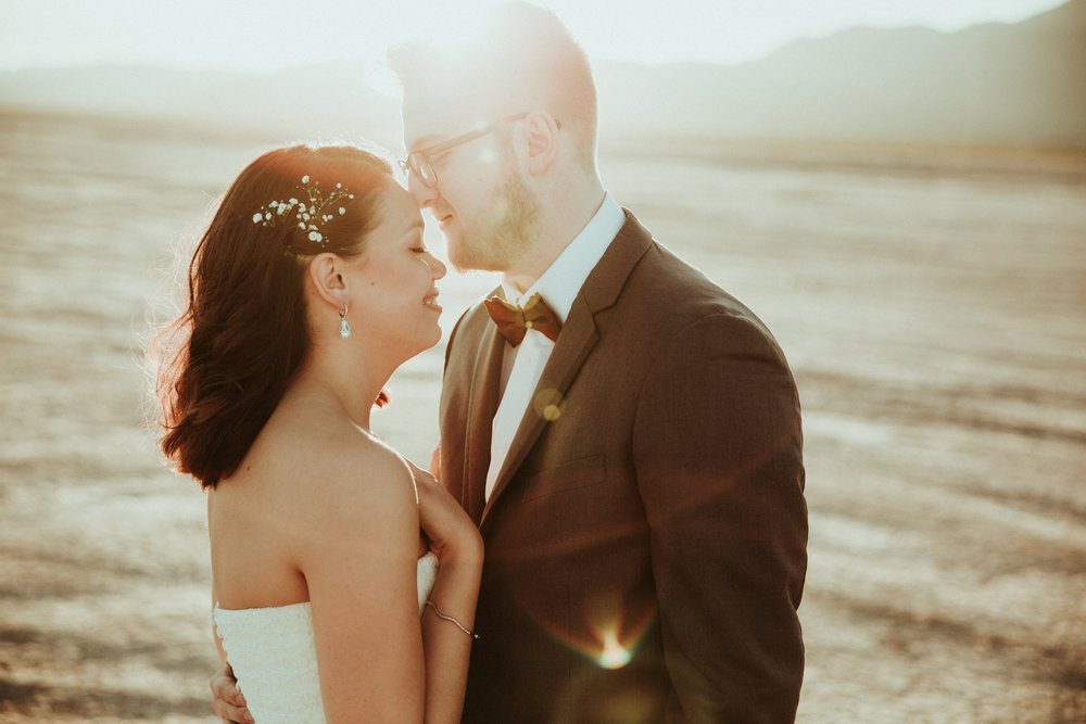 Jessica + Daniel - Seattle Wedding Photographer - Las Vegas Wedding - Henderson, NV - First Look