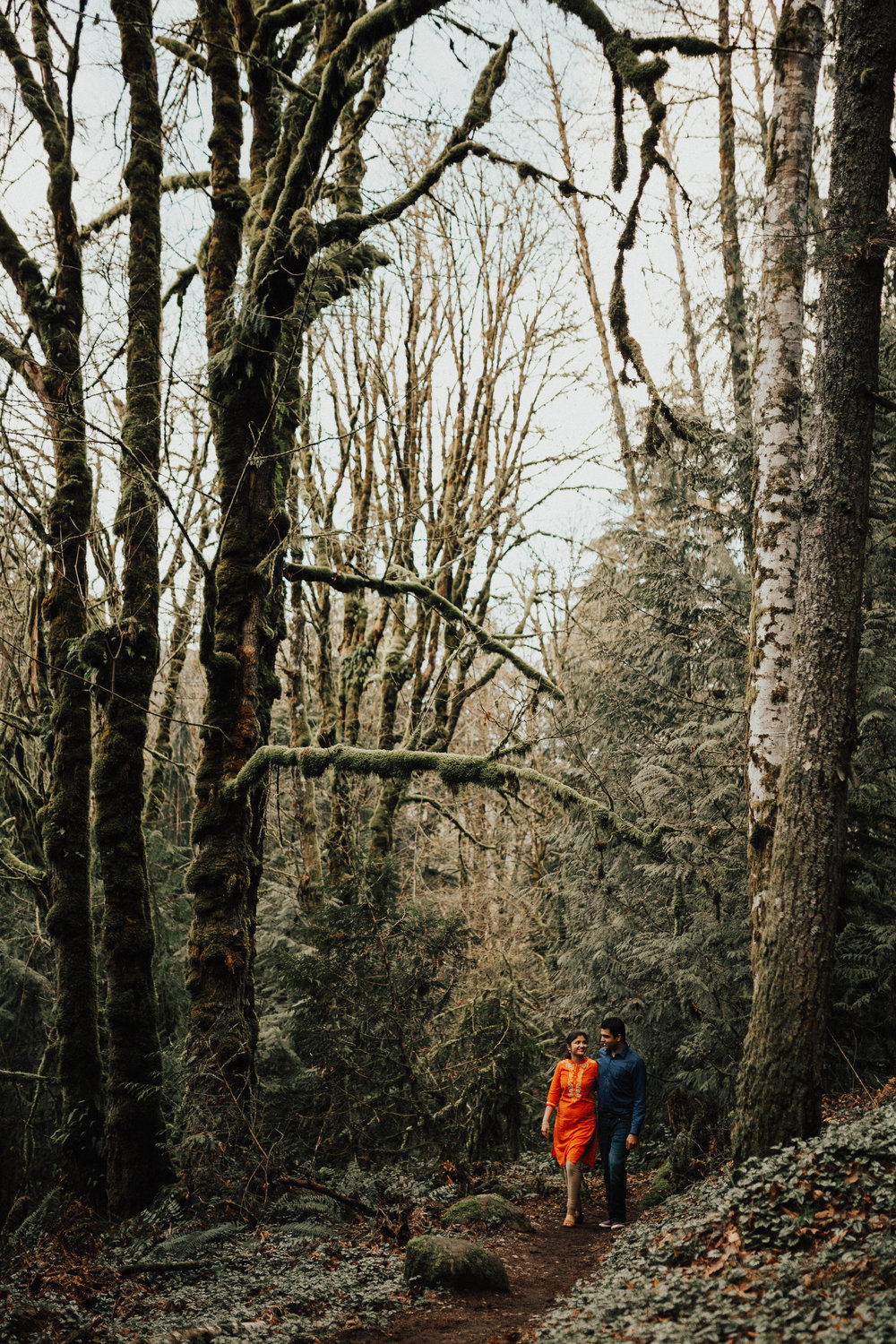 Seattle Engagement Photography - Seattle Wedding Photographer - Washington Couple's Session - Squak Mountain, WA - PNW Wedding Photographer - Portland Wedding Photographer - Engagement Session - Adventure Session