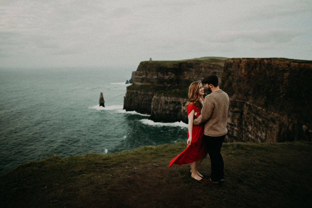 Kamra Fuller Photography - Cliffs of Moher, Claregalway - Cliffs of Moher Engagement Session - Cliffs of Moher Couple's Session - Ireland Wedding Photographer - Europe Wedding Photographer - Spain Wedding Photographer - UK Wedding Photographer - Seattle Wedding Photographer - Tacoma Wedding Photographer - Seattle Elopement Photographer - Adventure Elopement Photographer - Adventure Wedding Photographer - PNW Wedding Photographer - Portland Wedding Photographer - Olympic Peninsula Wedding Photographer - Port Angeles Wedding Photographer - Seattle Photographer - Seattle Engagement Photographer