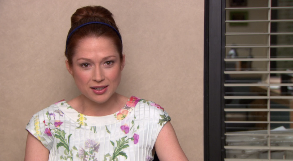 Erin Hannon/Ellie Kemper,   The Office  , 2013