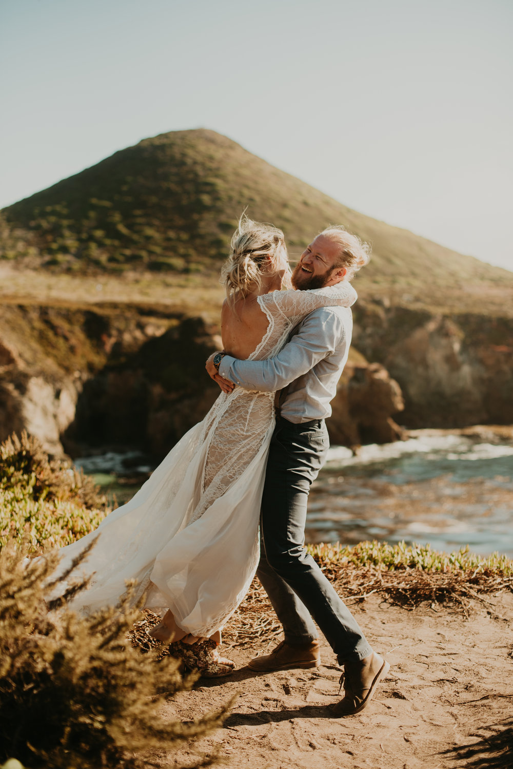 Joanna + Brian Intimate Wedding in Big Sur, CA - Kamra Fuller Photography-844.jpg