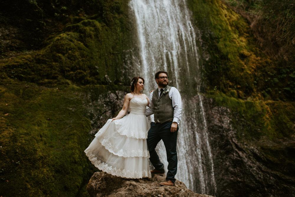 Chelsie + Matt Elopement - Marymere Falls, WA - Kamra Fuller Photography-295.jpg