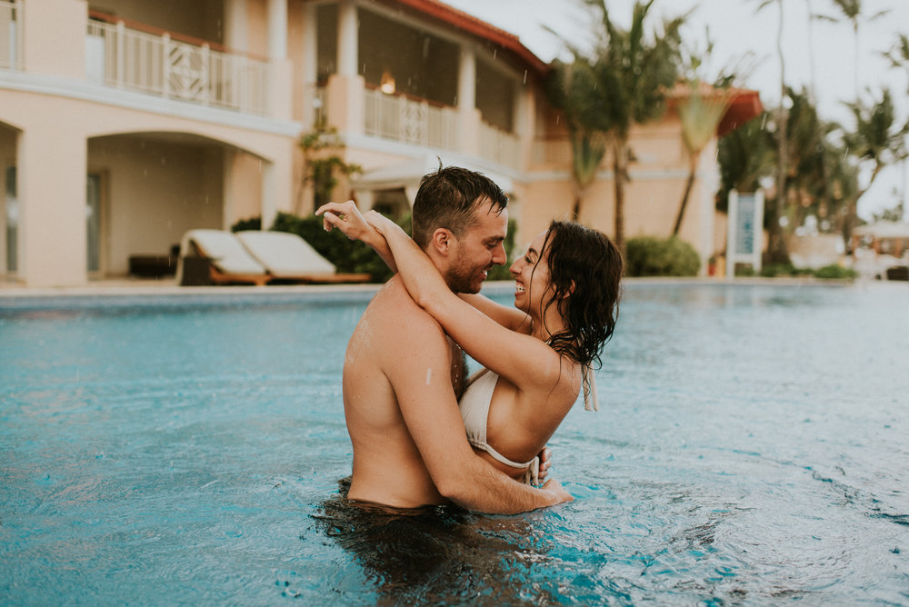 Amanda + Sean - Morning of Wedding Session - Day After Session - Punta Cana, Dominican Republic - Kamra Fuller Photography - Seattle Elopement Photographer - Destination Wedding Photographer