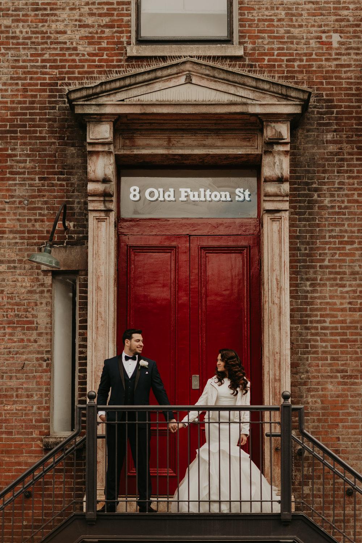 Kira + Mitchell - NYC Wedding - Brooklyn Wedding Photographer