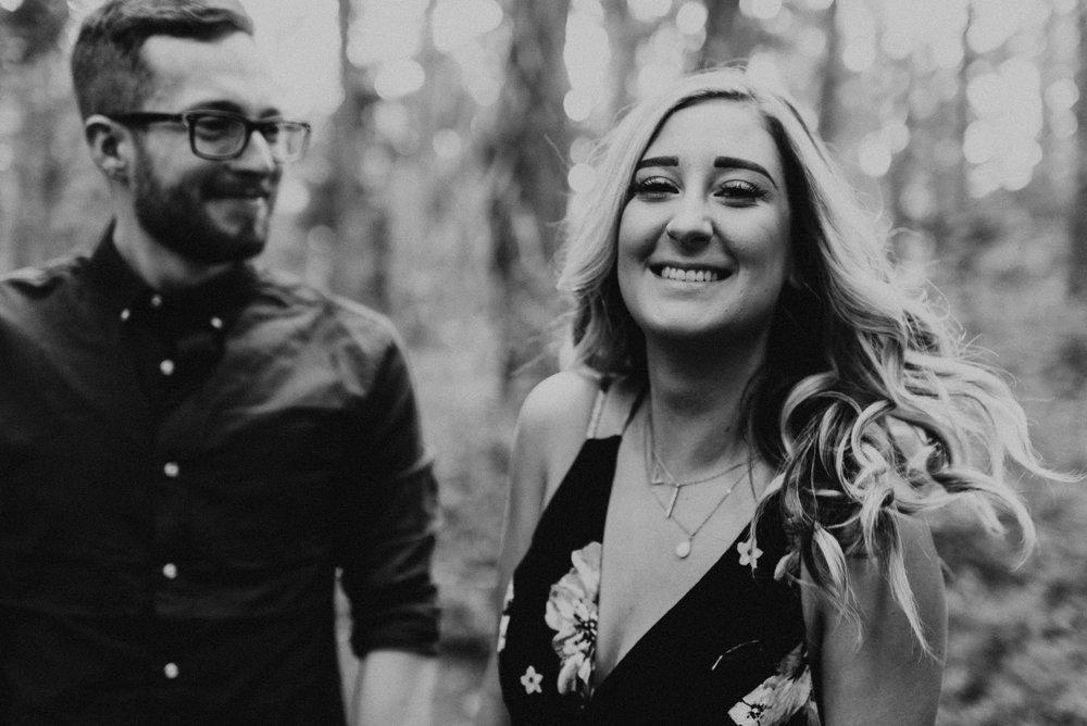 Amelia + Brendon - Olympic National Park Engagement Session - Olympic National Forest Wedding Photographer - Hurricane Ridge Elopement Photographer - Seattle Elopement Photographer