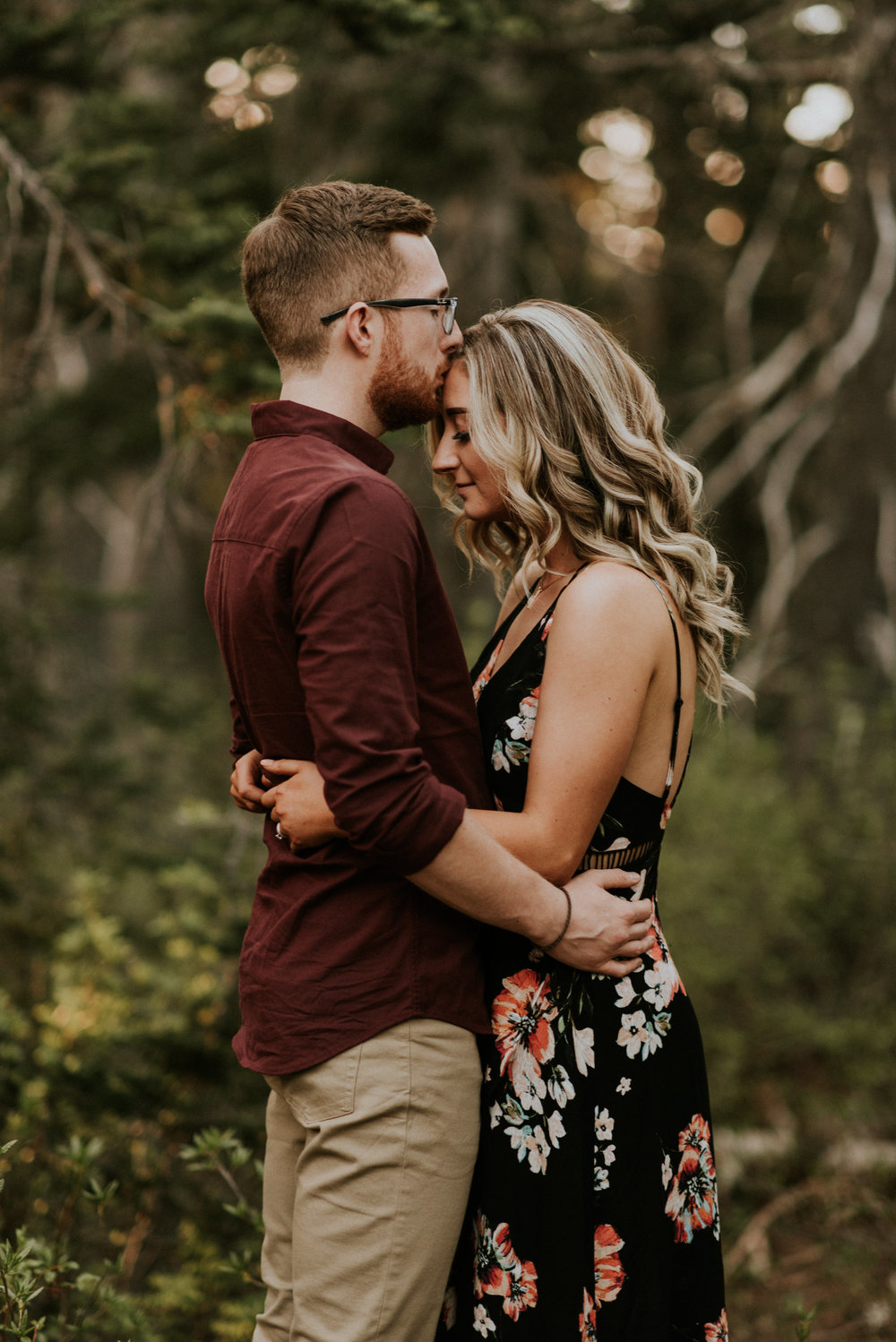 Amelia + Brendon - Olympic National Park Engagement Session - Olympic National Forest Wedding Photographer - Hurricane Ridge Elopement Photographer - Seattle Elopement Photographer