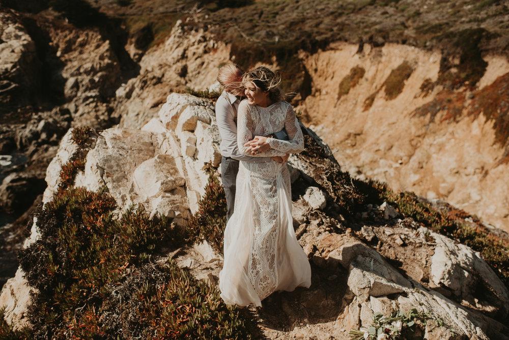 Joanna + Brian Intimate Wedding in Big Sur, CA - Kamra Fuller Photography-696.JPG