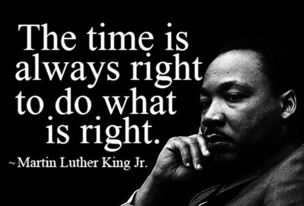 It's an important day to remember the life and legacy of Dr. King