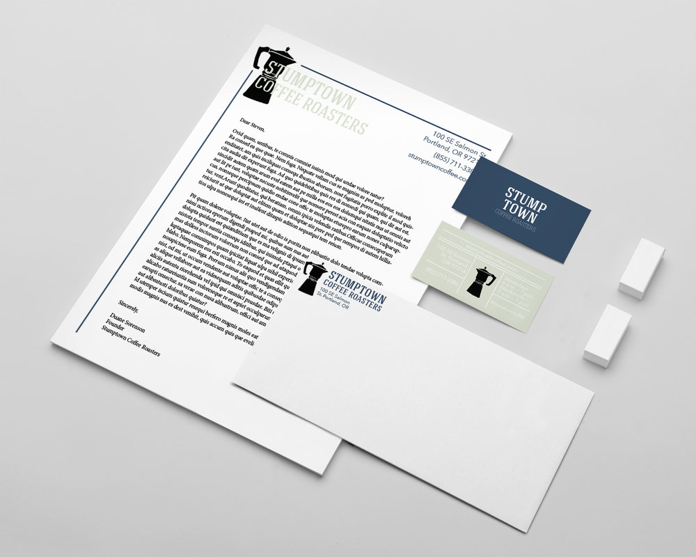 Stumptown coffee roasters emilie weiss business card and punch card design magicingreecefo Images