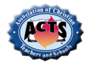 Association of Christian Teachers and Schools
