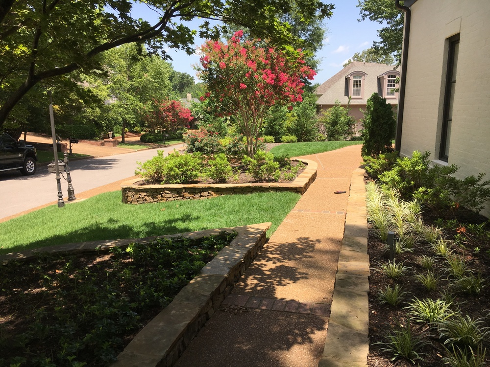LANDSCAPING  The possibilities are endless with our landscaping team. From basic customizations to full yard renovations, our landscaping services will add warmth & value to your home.