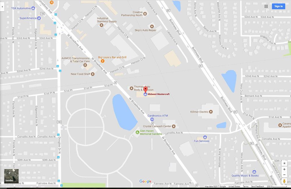 Location: - Midwest WaterSports5160 W BroadwayCrystal, MN 55429