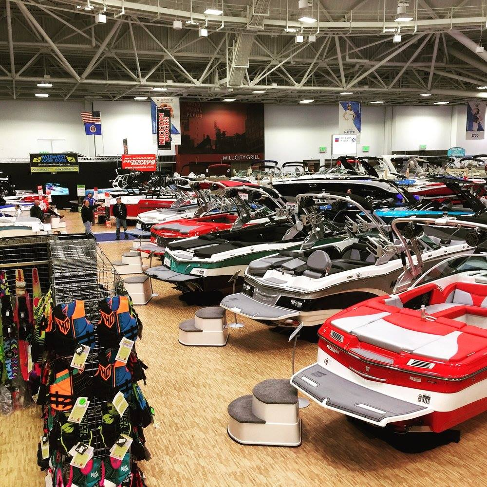 Midwest Water Sports Boat Show Booth 2017