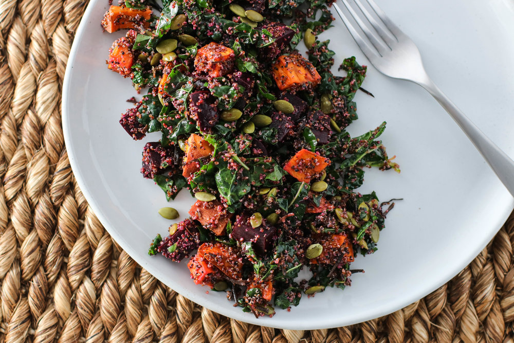 Sweets and Beets Winter Kale Salad 1.jpg