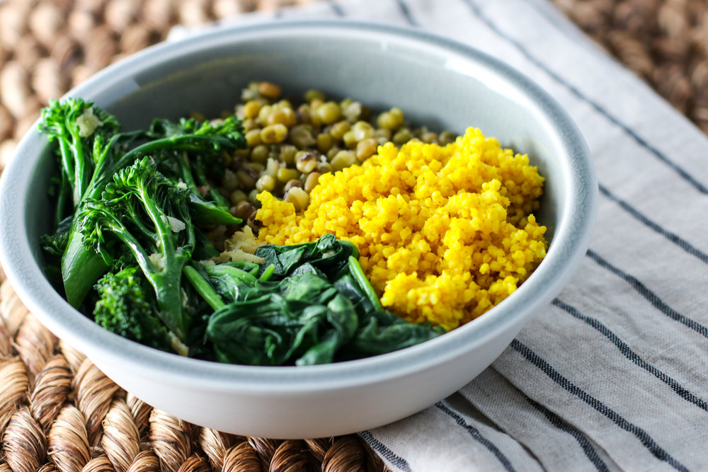 Turmeric Millet and Mung Bean Bowls with Gingery Spring Greens 3.jpg