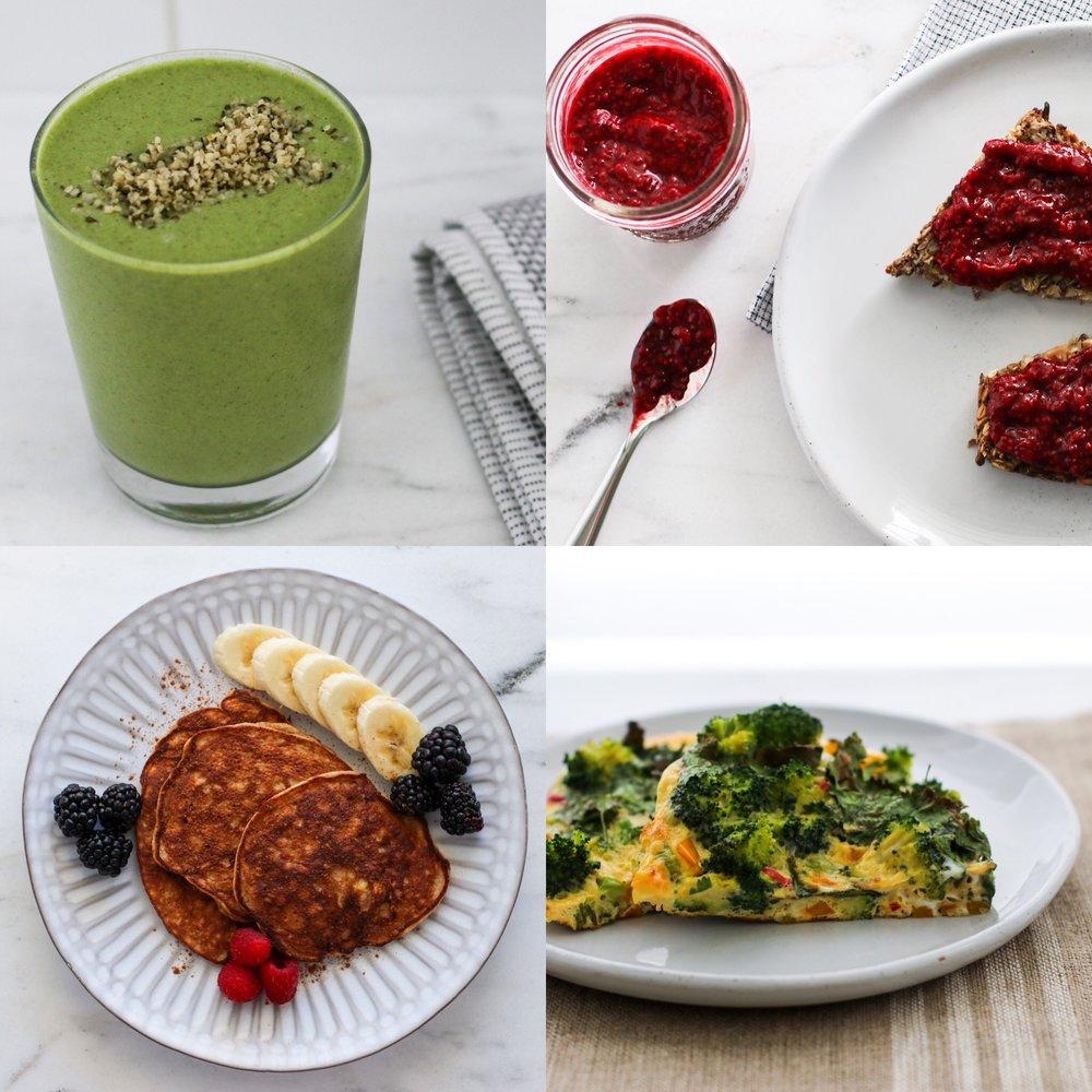 Easy, healthy breakfast ideas