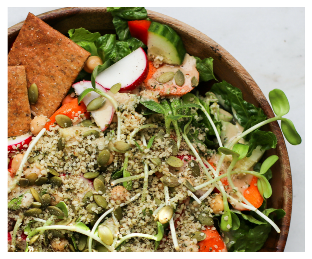 Easy, Nourishing Meals in Minutes!   Quick + simple lunches and dinners for balanced blood sugar and sustained energy.