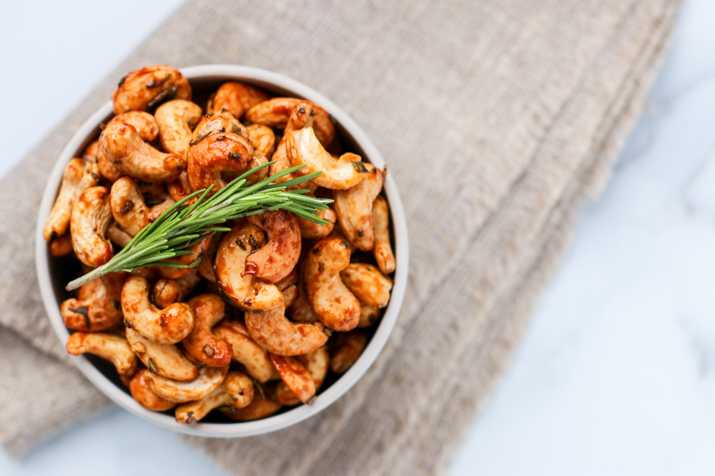 Rosemary and Olive Oil Roasted Cashews Recipe Rosemary and Olive Oil Roasted Cashews Recipe new pics