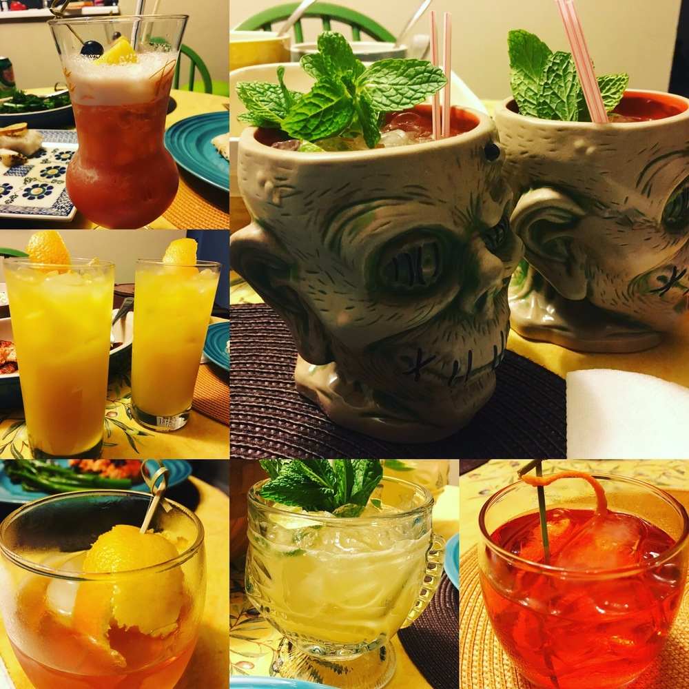 My recovery cocktails