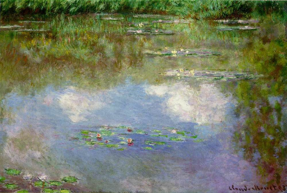 Claude Monet, Water and Clouds