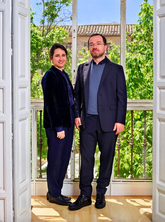Sara Romero y Mariano Vallejo
