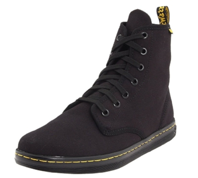 The Doc Marten Women's Shoreditch Sneaker. Now, these are REALLY more expensive than what I would normally spend on a shoe, but I wear them to work and they're REALLY comfortable and durable....plus they match everything and Doc Martens are cool. These are about $56 for my size (10)