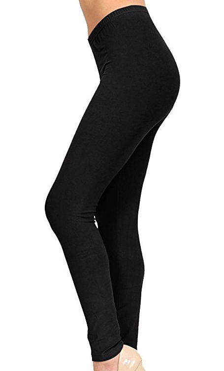 VIV black leggings. Forget about paying $20-$30 for a pair of black friggin leggings. It ain't gonna happen. Black leggings are a staple and I own several pairs of these. They are just like the more expensive kind and I got these for $10.99.