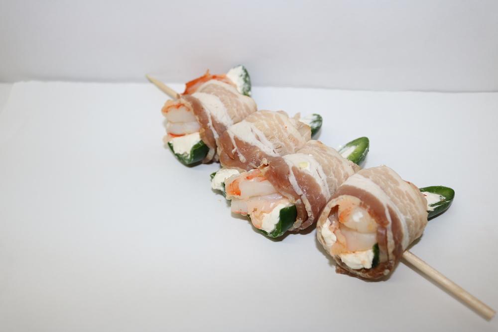 Gulf Shrimp Jalapeno Poppers