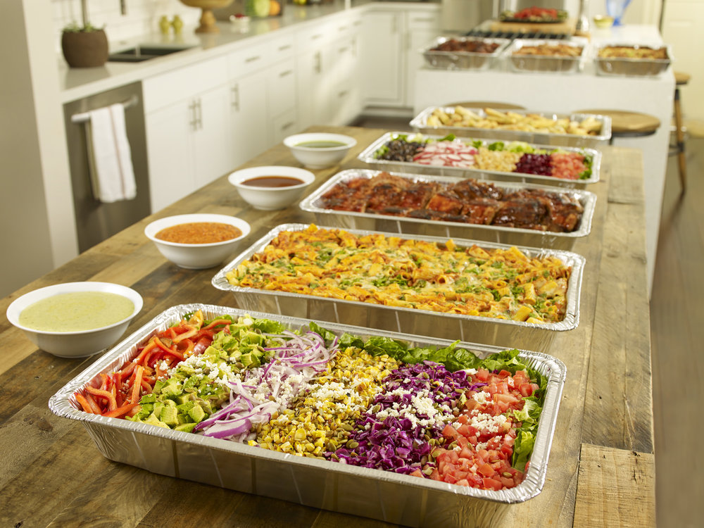 Home style catering