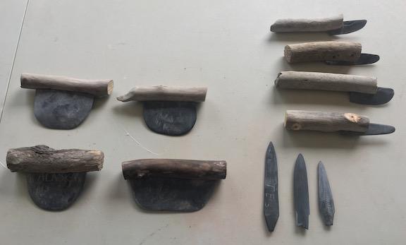 Nondalton slate tools