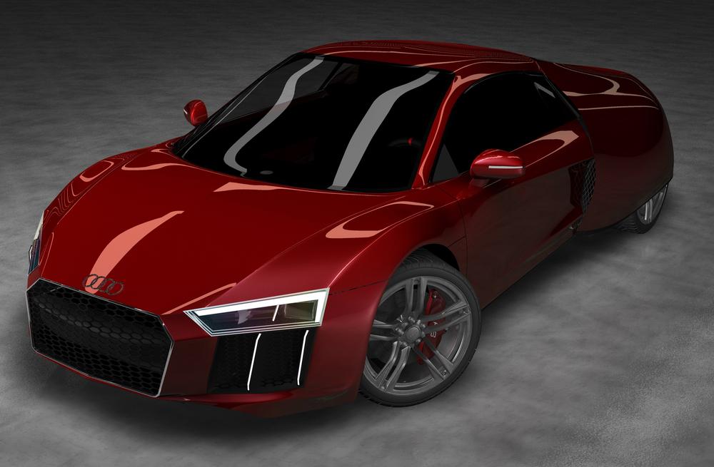 Audi R8 R 2020 Concept Ibrahim Balushi