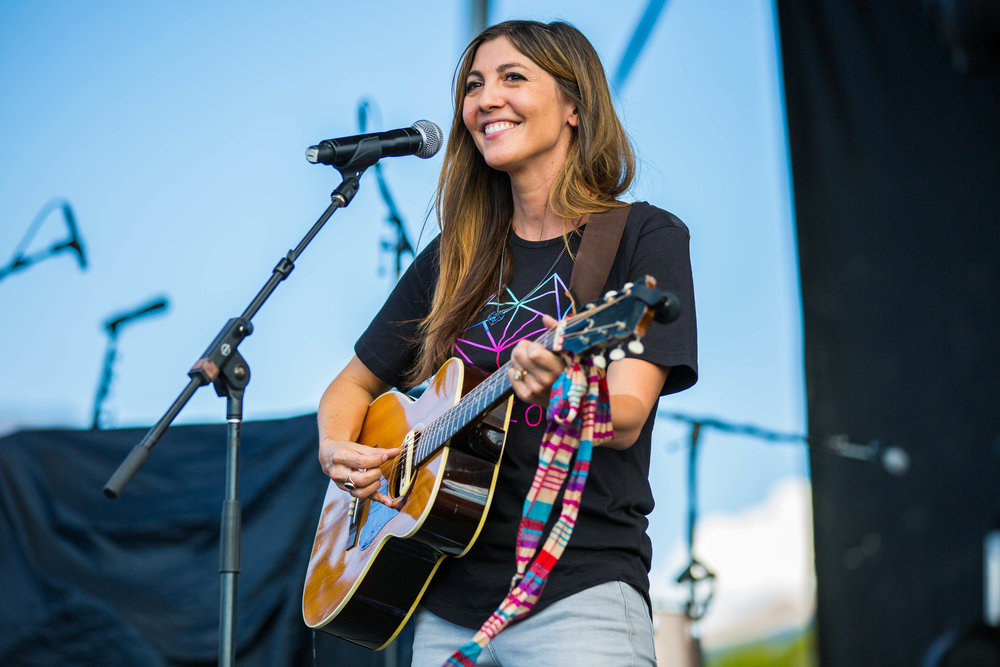 Aja Volkman at Love Loud Festival 2017 →