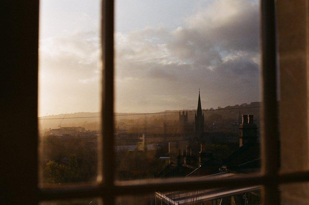 The view from Hatfield Gardens, Bath