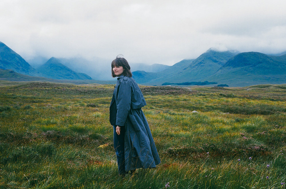 Hannah somewehre in the HIghlands on 35mm.