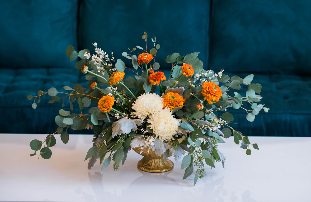 Florals by: Sarah Woodall of Gold Leaf Floral