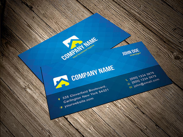 Four Color Business Card