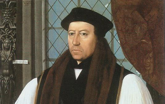 Resultado de imagen para Foto de arzobispo de Canterbury Thomas Cranmer