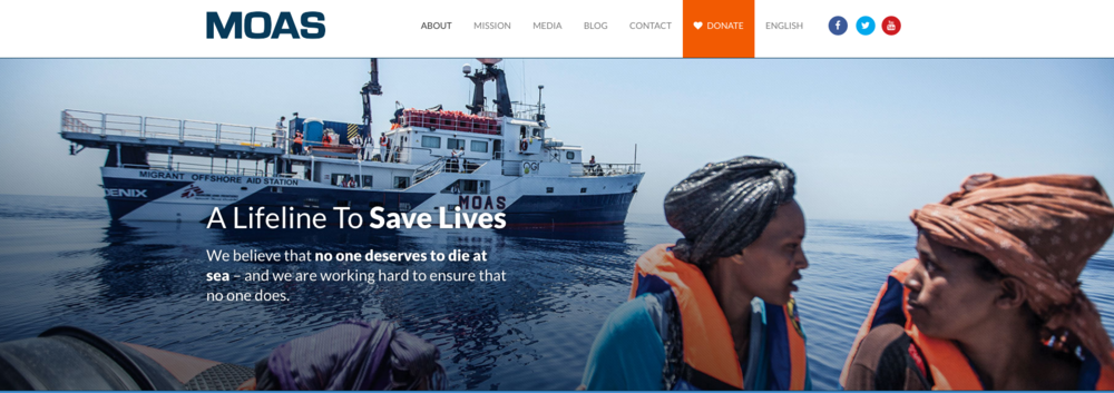 These good folk are literally scooping drowning refugees out of the ocean!  This organization is amazing.