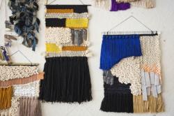 Home and Studio visit with Janelle Pietrzak, textile artist