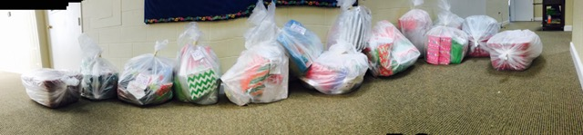 Thanks FPP Faculty for your generous donations to RVA families in need.... There will be lots of happy faces this Christmas morning thanks to you!