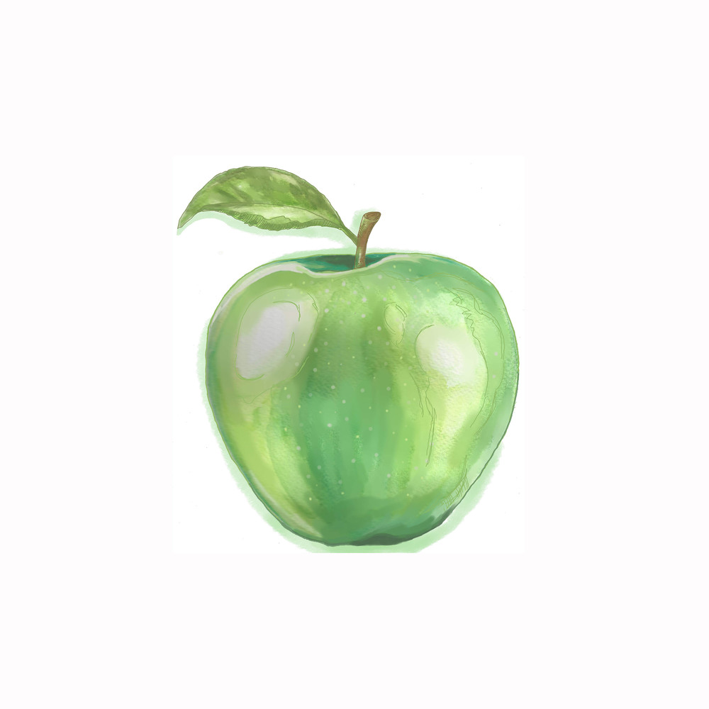 - apple illustration -