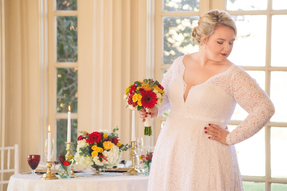 Styled Shoot with Longview Mansion