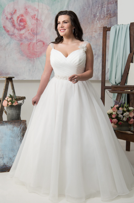 Beatrice | Callista Bridal | Plus Size Wedding Dress