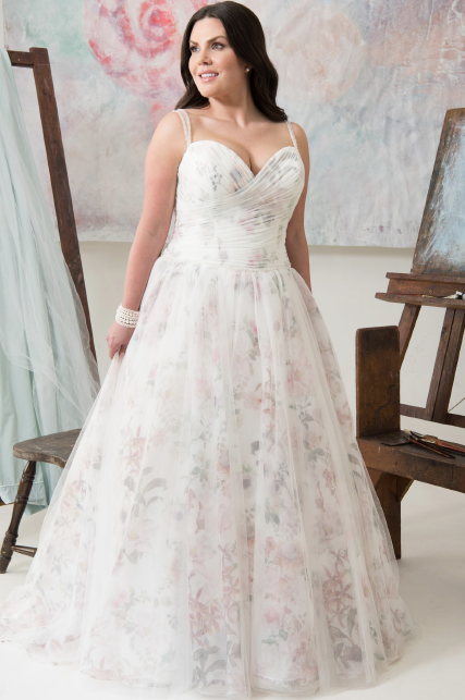 Carmel | Callista Bridal | Plus Size Wedding Dress | All My Heart Bridal