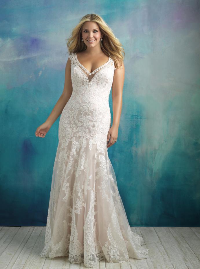spring 2018 wedding dresses plus size