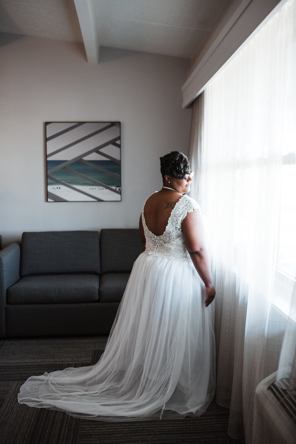 Plus Size Bride