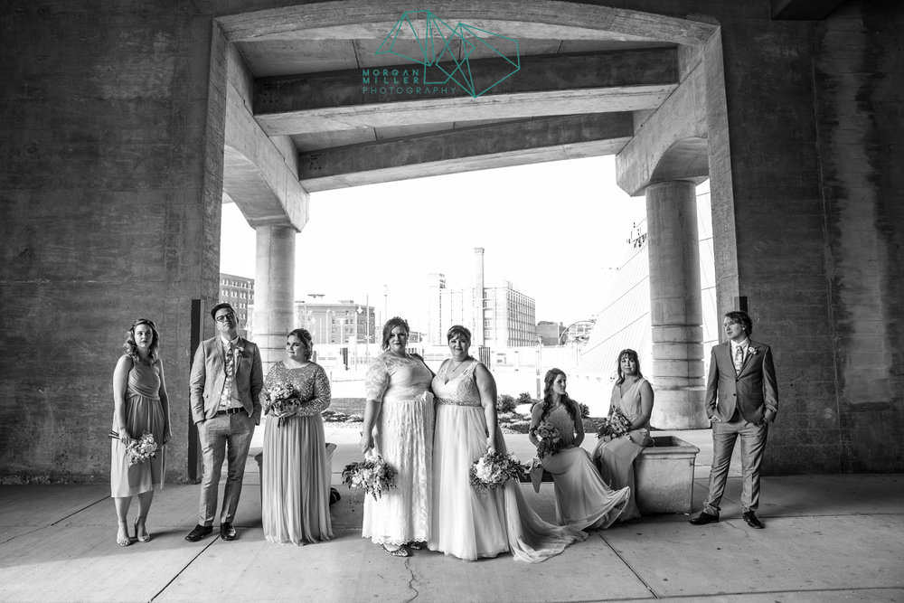 Plus Size Brides Wedding Party